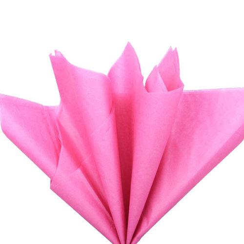 Бумага тишью 76 х 50 см амарантовая 10 листов