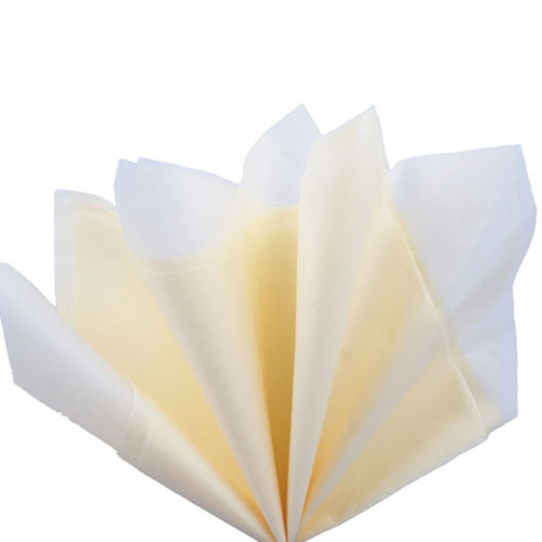 Бумага тишью 76 х 50 см бежевая 10 листов