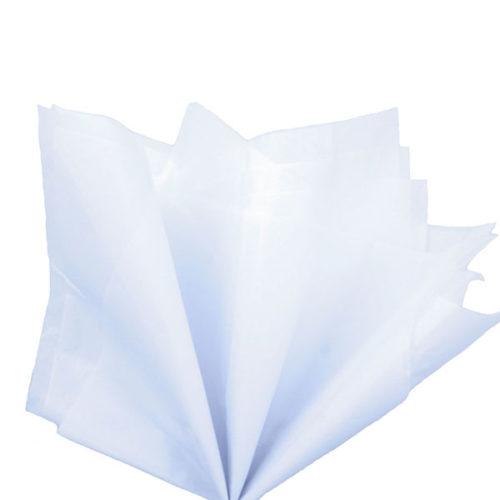 Бумага тишью 76 х 50 см белая 10 листов
