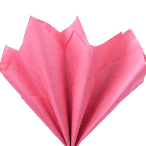 Бумага тишью 76 х 50 см коралловая 10 листов