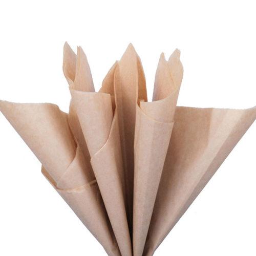 Бумага тишью 76 х 50 см латте 10 листов