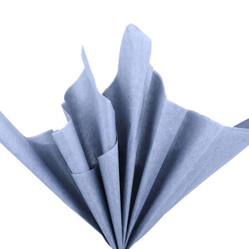 Бумага тишью 76 х 50 см серая 10 листов