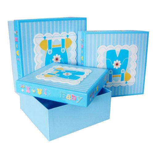 Коробка квадрат Набор Малыш 24х24х10 см