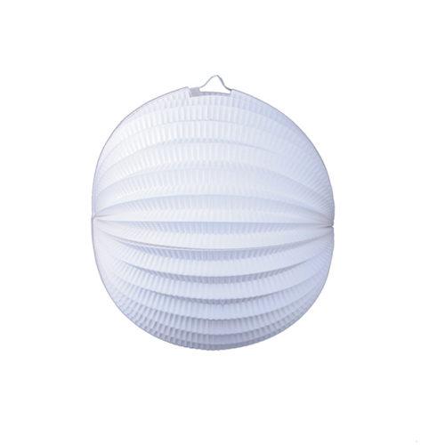 Подвесной фонарик Аккордеон 25 см белый