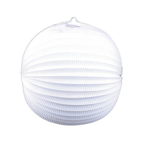 Подвесной фонарик Аккордеон 34 см белый