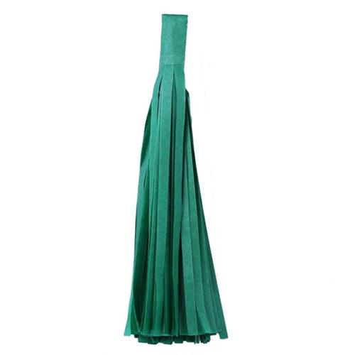 Помпон Кисточка Тассел 35 х 25 см зеленый 5 листов
