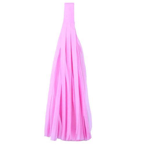 Помпон Кисточка Тассел 35 х 25 см розовый 5 листов