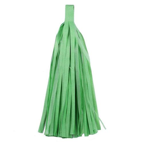 Помпон Кисточка Тассел 35 х 25 см светло-зеленый 10 листов