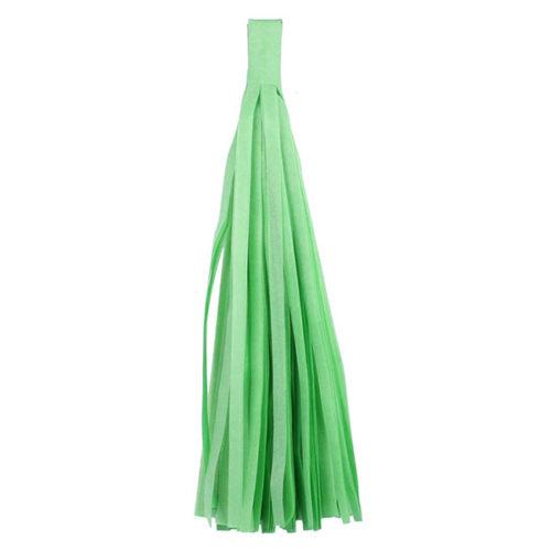 Помпон Кисточка Тассел 35 х 25 см светло-зеленый 5 листов