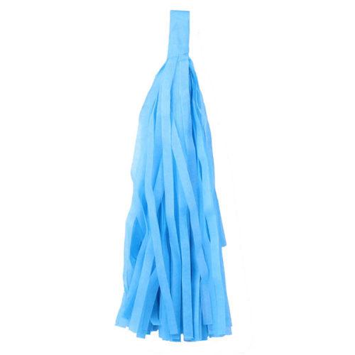 Помпон Кисточка Тассел 35 х 25 см синий 5 листов