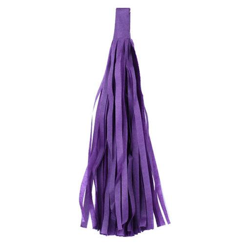 Помпон Кисточка Тассел 35 х 25 см фиолетовый 5 листов
