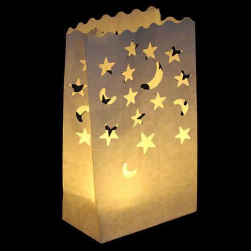 Светящийся пакет 26 х 9 х 15 Звездная ночка