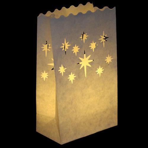Светящийся пакет 26 х 9 х 15 Искры