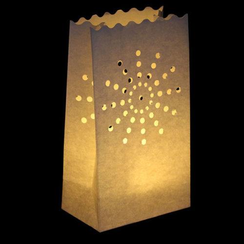Светящийся пакет 26 х 9 х 15 Солнце