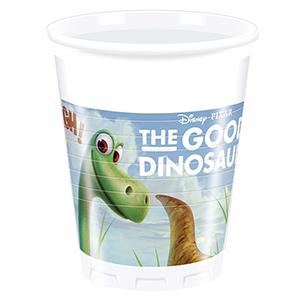 Стаканы пластиковые 200 мл Хороший Динозавр