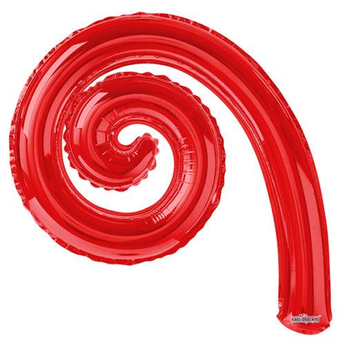 Шар 36 см Спираль Красный