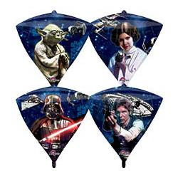 Шар 41 см 3D Алмаз Звездные Войны