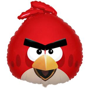 Шар 61 см Фигура Angry Birds Красная птица