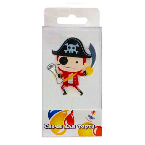 Свеча Пират 1 шт