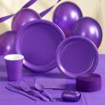 Коллекция Без рисунка Фиолетовый