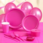 Коллекция Без рисунка Ярко-Розовый