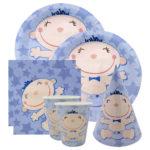 Коллекция С днем Рождения Малыш Голубой