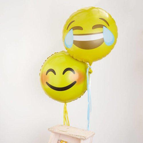 Комплект из 2 шаров Смайлики со смехом