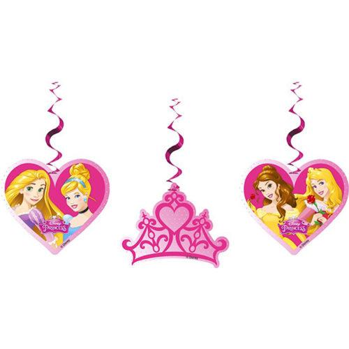 Подвески Принцессы Disney 3 штуки