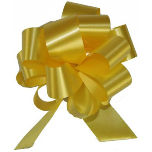 Бант Шар Пастель Желтый 8 см 50 шт