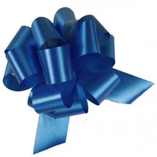 Бант Шар Пастель Синий 8 см 50 шт
