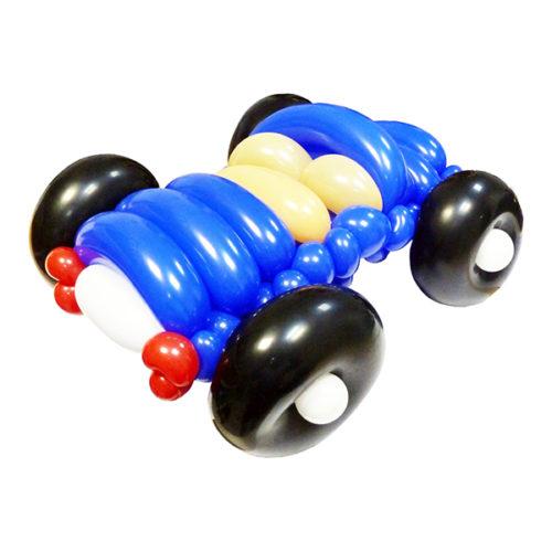 Маленькая машинка из воздушных шаров