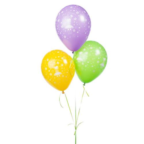 Набор из 3 желтых воздушных шаров Моя Принцесса