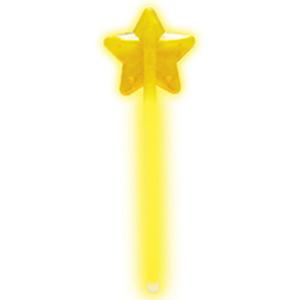 Палочка Звезда светящаяся желтая