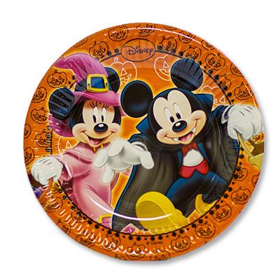 Тарелки малые Микки Хэллоуин 20 см