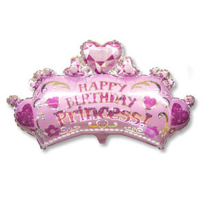 Шар 64 см Фигура Корона принцессы