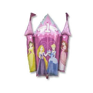 Шар 64 см Фигура Принцессы первый ДР