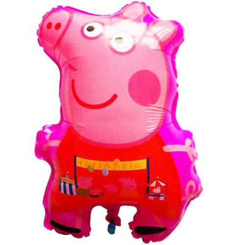 Шар 65 см Фигура Свинка Пеппа