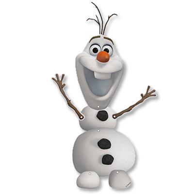 Декорация Frozen Олаф 55 см