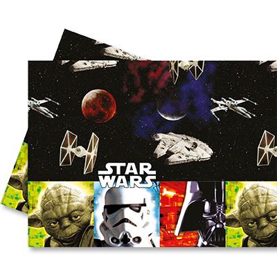 Скатерь п-э 120 х 180 см Звездные Войны Герои