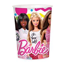 Стакан пластик 473 мл Барби