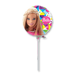 Шар 23 см Мини-фигура Барби