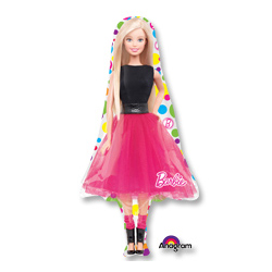 Шар 57 см Фигура Барби