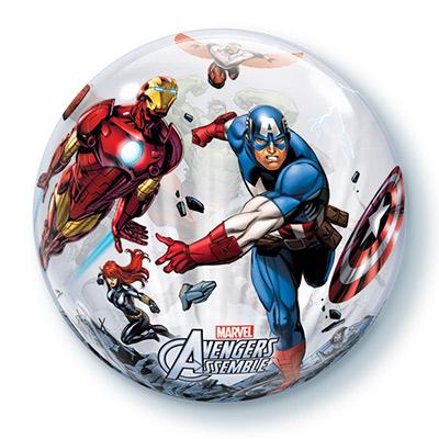 Шар BUBBLE 56 см Marvel Мстители