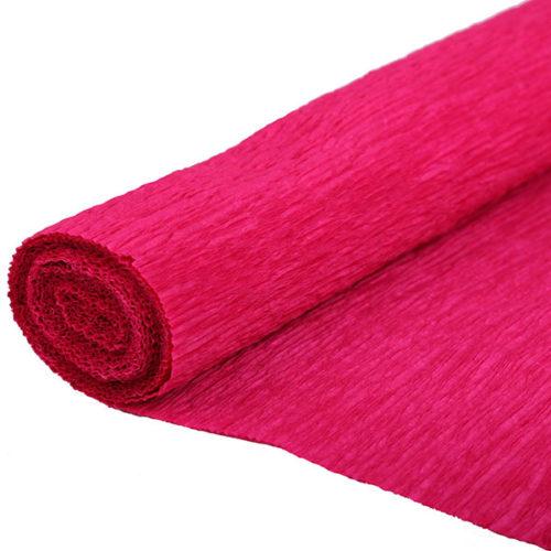 Бумага гофрированная красная № 2 120 г 50х250см