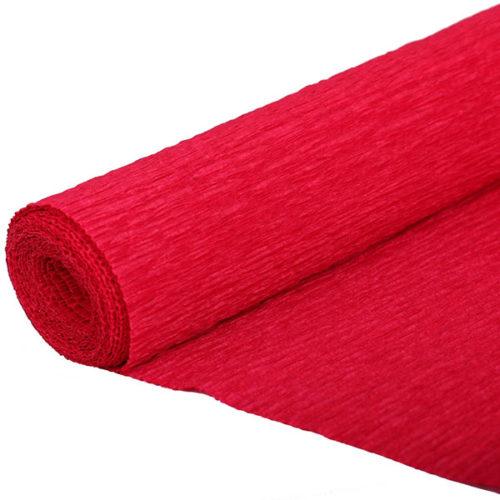Бумага гофрированная красная № 3 120 г 50х250см
