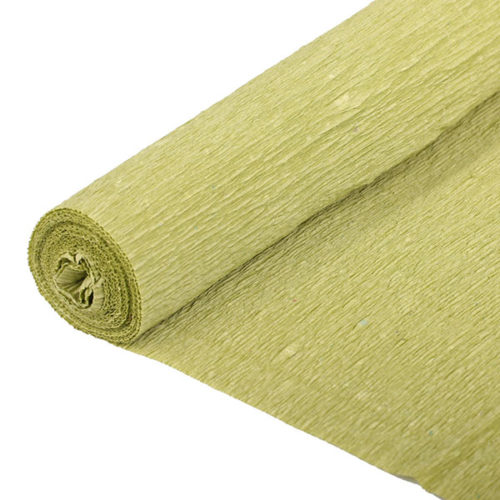 Бумага гофрированная салатовая № 18 120 г 50х250см