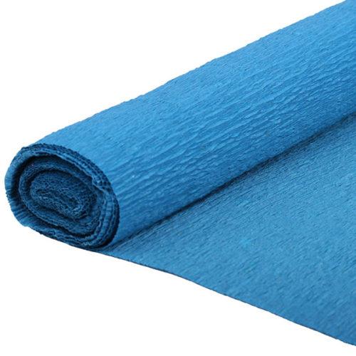 Бумага гофрированная синяя № 14 120 г 50х250см