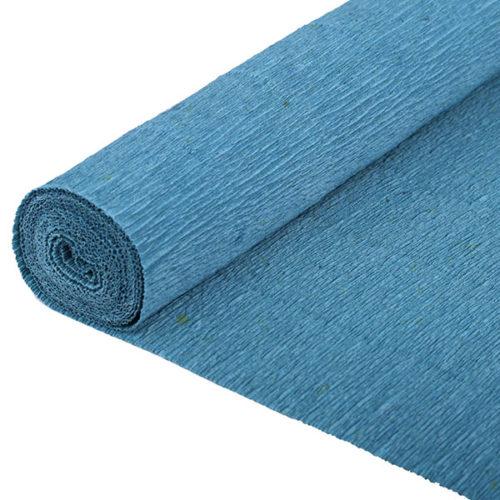 Бумага гофрированная синяя № 15 120 г 50х250см
