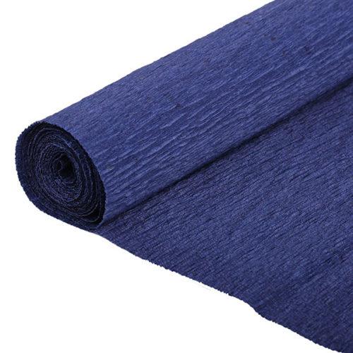 Бумага гофрированная темно-синяя № 36 120 г 50х250см