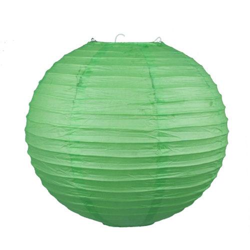 Подвесной фонарик 25 см Стандарт светло-зеленый